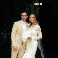 Jamie Zakeri wedding day smile